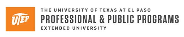 University of Texas at El Paso (UTEP) - Professional and Public Programs